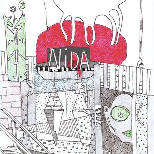 Ilustrācija plenēra dzienasgrāmatai 2014 © Annija Grosa
